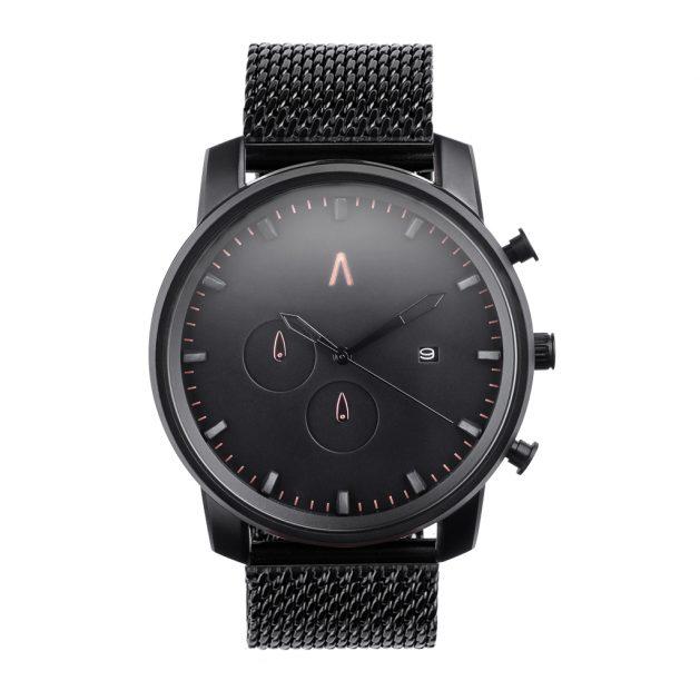 Reloj Athena Acero Negro