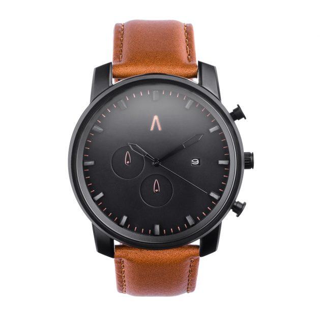 Reloj Athena Cuero Marrón Classic