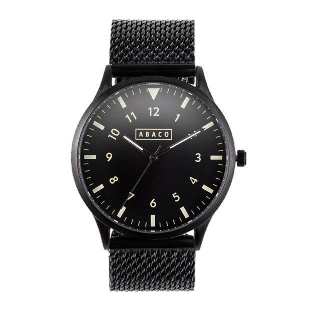 Reloj Edison Acero Negro