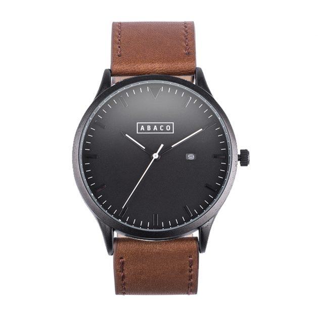 Reloj Harrison Cuero Caoba