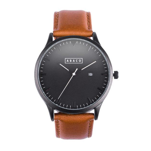 Reloj Harrison Cuero Marrón Classic