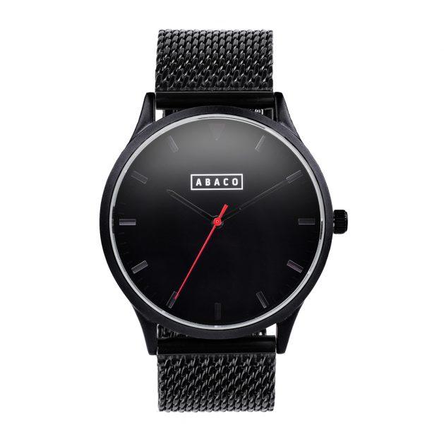 Reloj Verne Acero Negro
